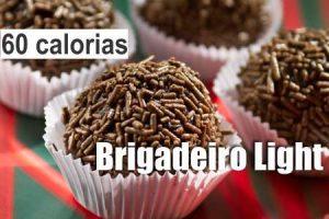 brigadeiro light