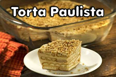 Torta Paulista (Torta de Amendoim)
