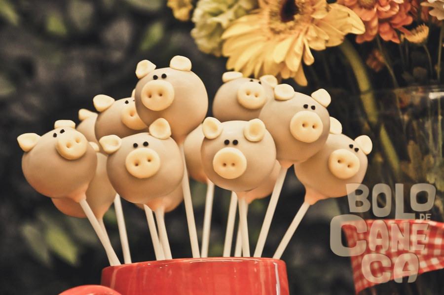 cakepop 3 porquinhos