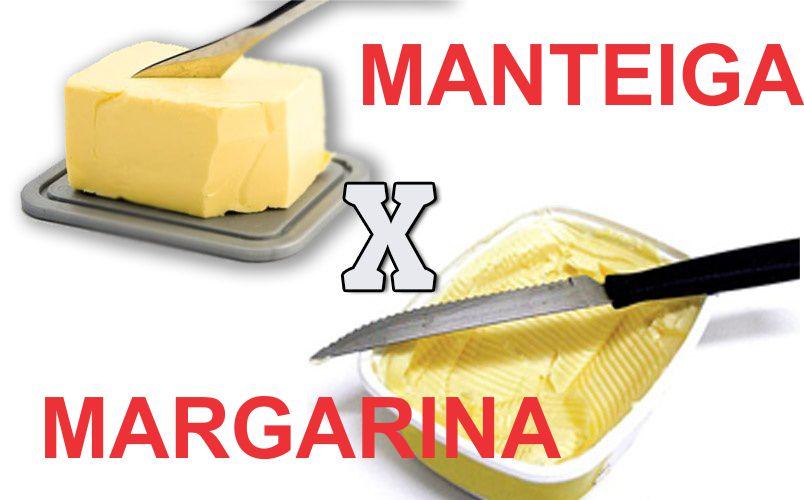 manteiga margarina