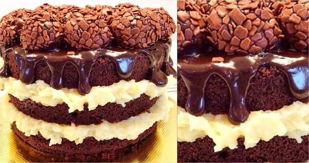Naked Cake no Elo7   Confeitaria das Artes (BB9978)