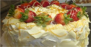 bolo chocolate branco