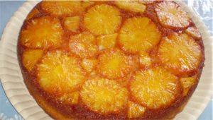 bolo de abacaxi invertido