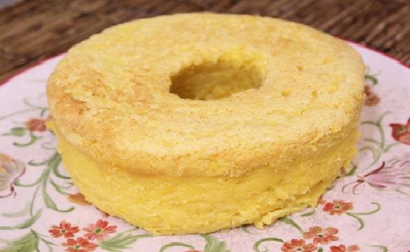 bolo de milho verde cremoso