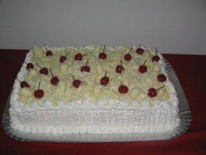 bolo floresta branca