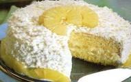 bolo trufado de abacaxi