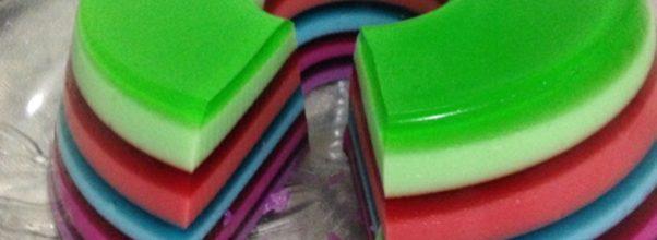 gelatina colorida em camadas6