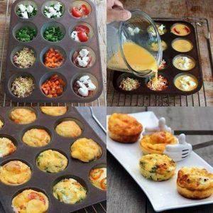 muffin de ovo
