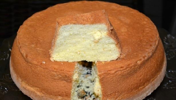 pão de ló de fécula