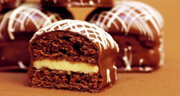 pão de mel com chocolate branco