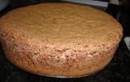 pão de ló de nozes com chocolate
