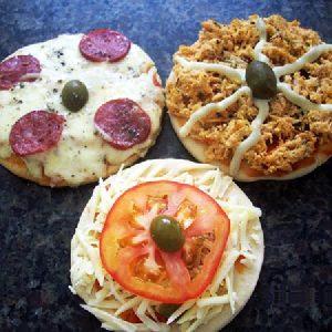 pizza brotinho face