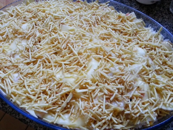 arroz de forma