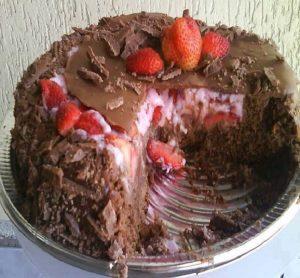 bolo coração