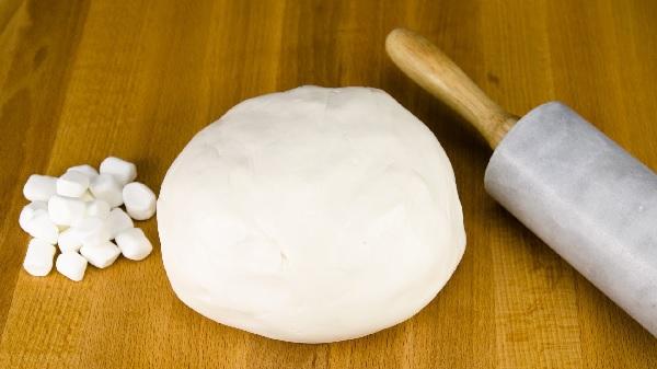 pasta de marshmallow face