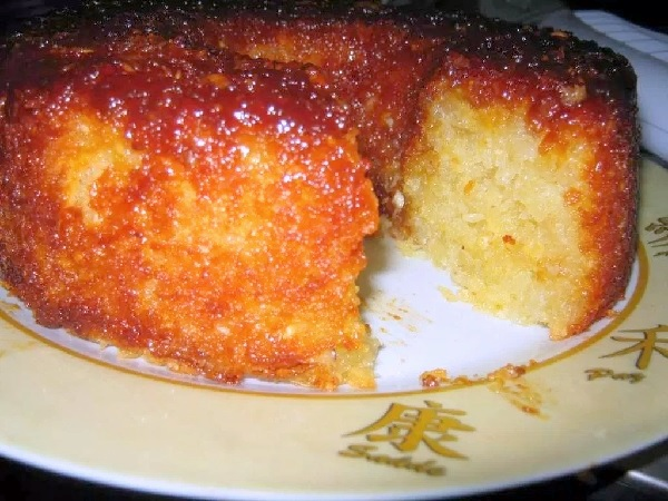 bolo de mandioca da fazenda