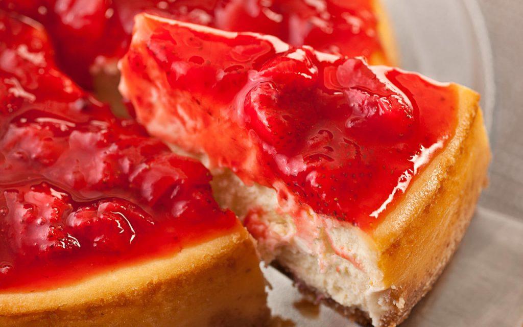 Cheesecake Tradicional Americana