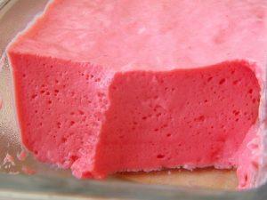 mousse gelatina