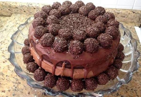 naked cake doce