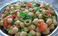 salada de grão