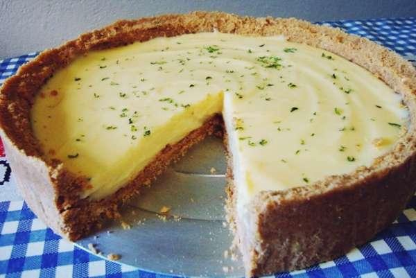 Sobremesa Rápida de Mousse de Limão