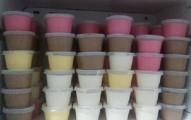 sorvete cremoso