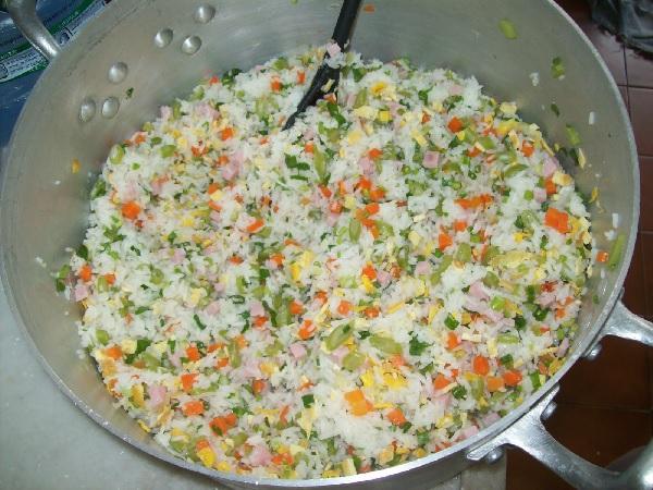 arroz colorido