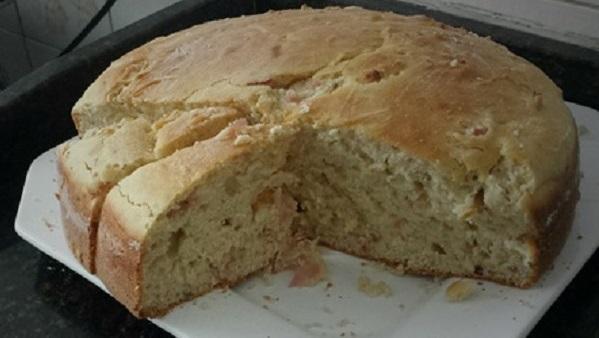pão rápido face