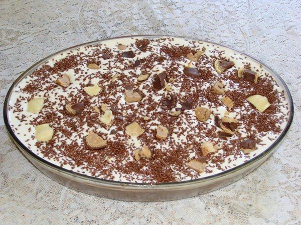 sobremesa de natal: torta de bolacha maria