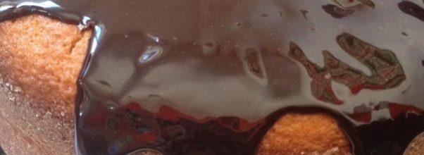 calda de chocolate facil