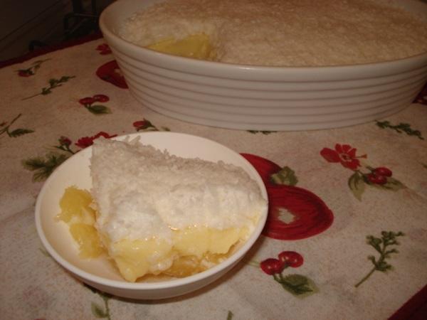 delicia de abacaxi com coco