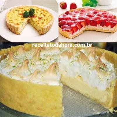 massa para tortas
