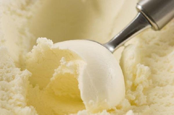 sorvete de creme da isamara