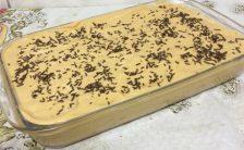 torta de biscoito com doce de leite