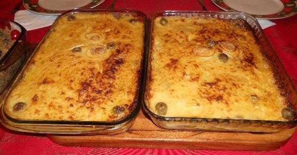 bacalhau de forno a portuguesa