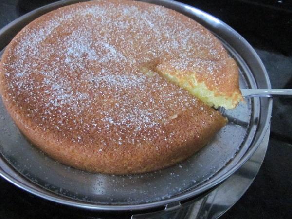bolo de aipim cremoso de liquidificador1