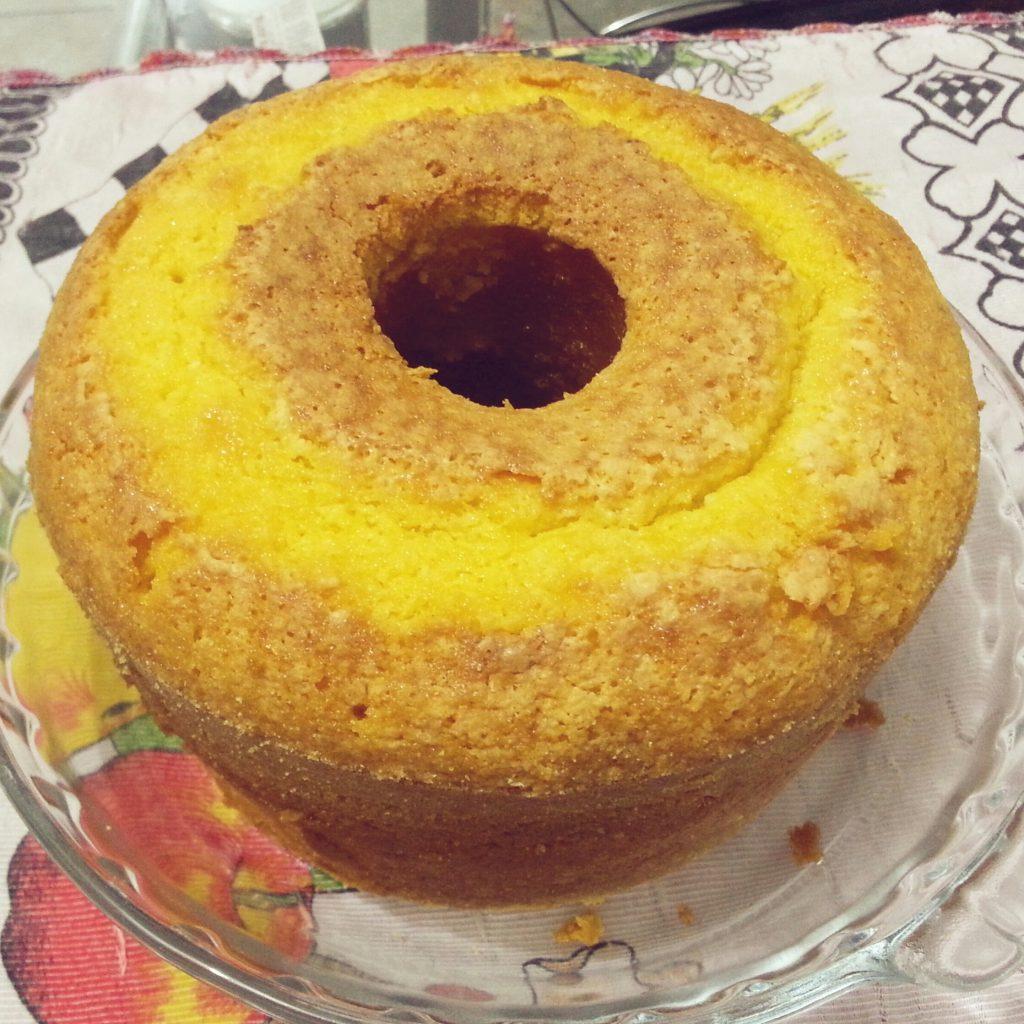 bolo de farinha de milho de liquidificador4