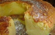bolo de queijo e coco de liquidificador