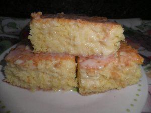 bolo gelado molhadinho