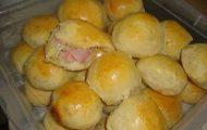 pao de batata recheado de liquidificador