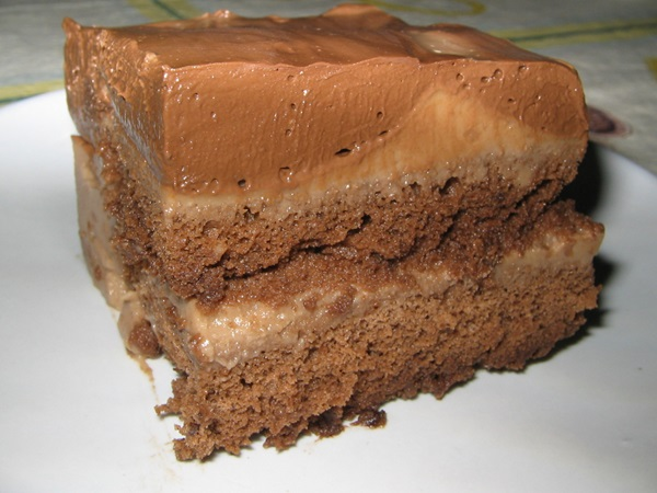 pave de chocolate diet