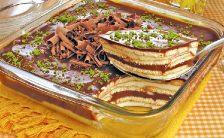 pave de limao com chocolate