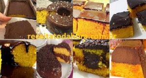 10 receitas faceis de bolo de cenoura0