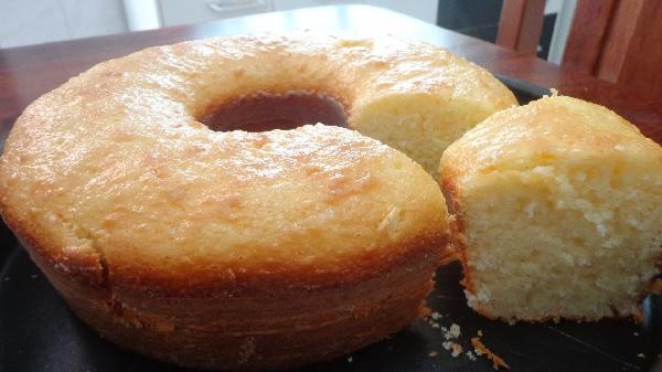 bolo de arroz cru super fofo
