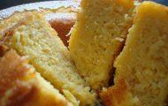 bolo de milho com coco