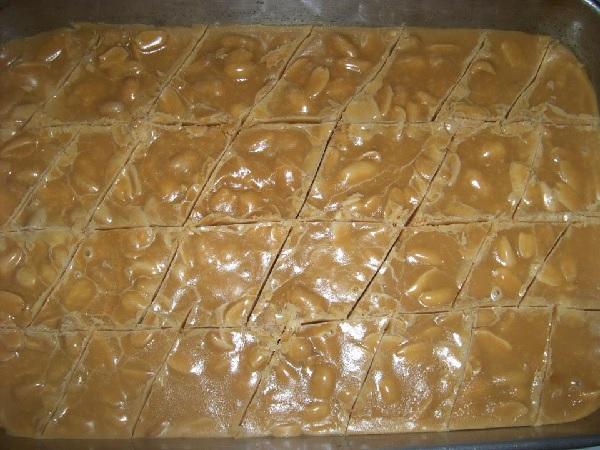 doce de amendoim caseiro