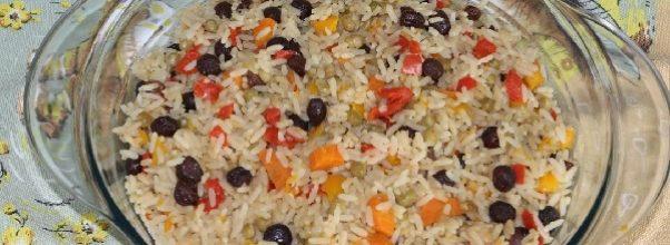 arroz a grega em 15 minutos