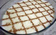 arroz doce com leite ninho