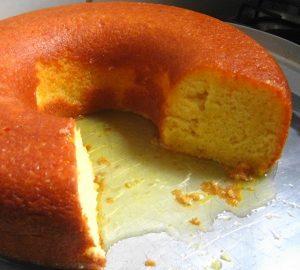 bolo de laranja molhadinho 1