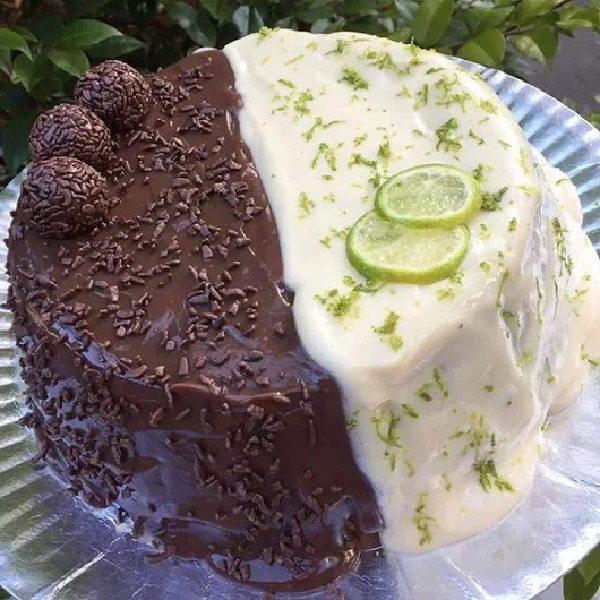bolo duo de limao com chocolate 1